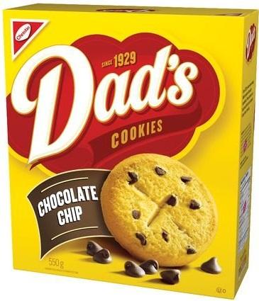 Bye Bye Dad's Chocolate Chip Cookies
