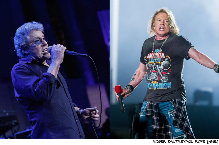 The Who And Guns N' Roses To Tour Together