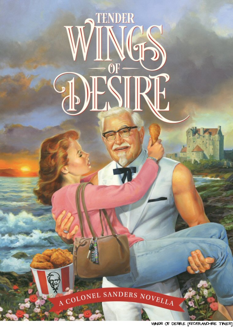 Moms Everywhere Fan Themselves With Chicken Drumsticks As KFC Releases Dead Sexy Novella