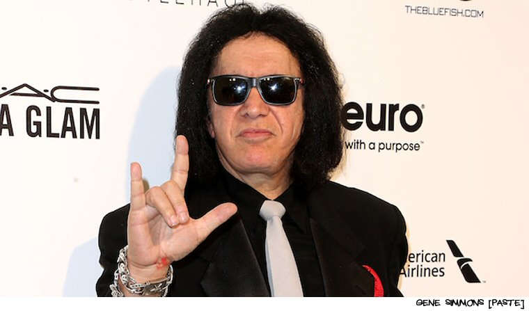 Gene Simmons Attempts To Trademark Devil Horns Gesture (UPDATE:  Oh, No, He Doesn't)