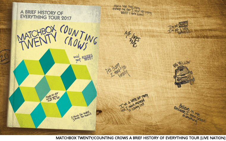 Win Your Matchbox Twenty/Counting Crows Tickets From Ed Bain And The Q Morning Show
