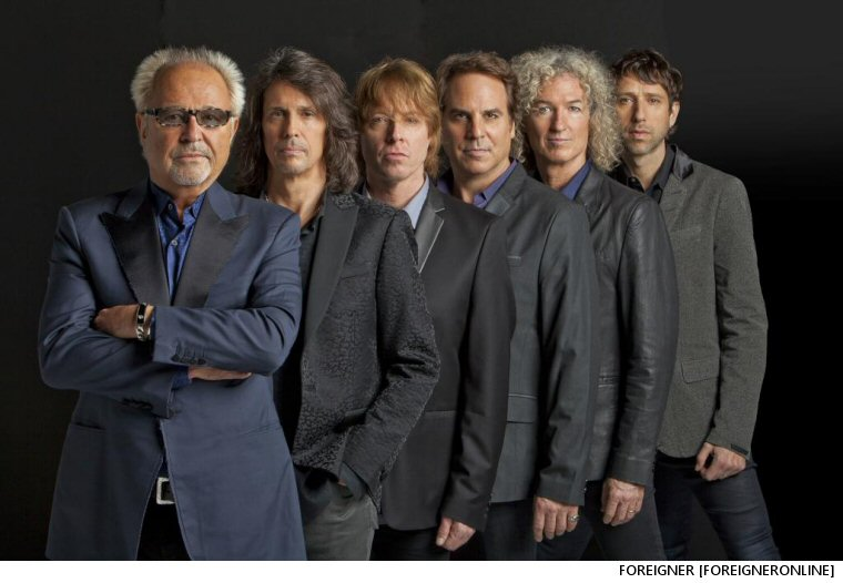 Foreigner Mull Original Lineup Reassembly