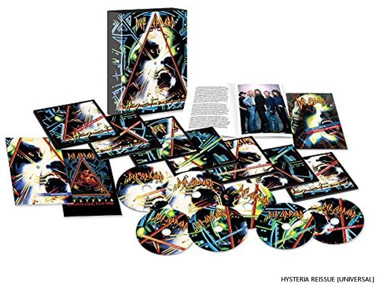 Hysteria Reissue