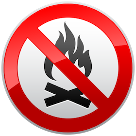 No Fires Allowed