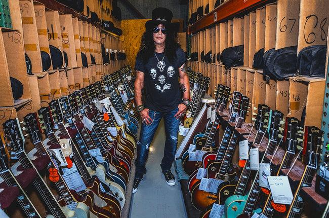 Slash Named Gibson Global Brand Ambassador