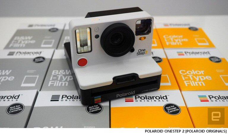 Analog Polaroid OneStep Sweetness:  It's Back, Baby