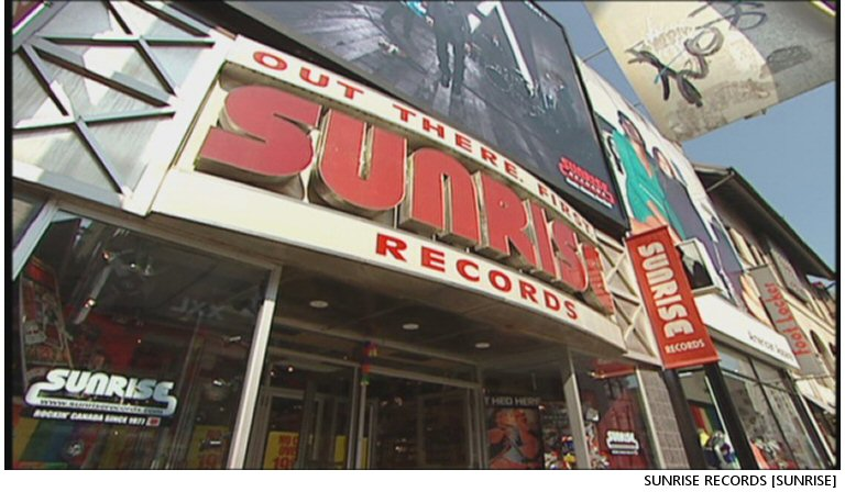 Sunrise Records Comes To Victoria, Rising From The Ashes Of HMV