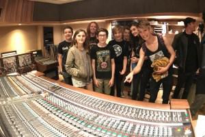 Students Recreate Van Halen's Debut Album