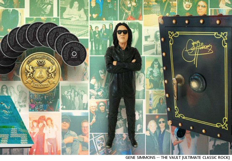 Gene Simmons Announces A Two Thousand Dollar Gene Simmons Box Set (Or Fifty-Two Thousand, If You'd Like Him To Deliver It To You)