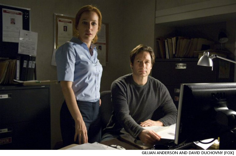 The Internet Re Teaser Images For The X-Files Season 11:  What  The Deuce?