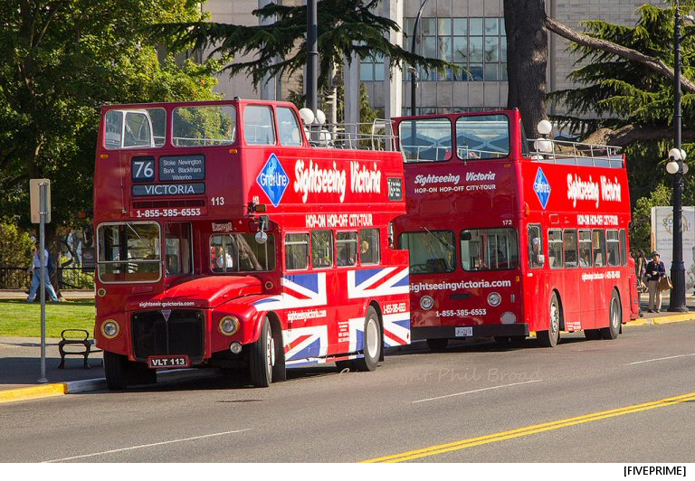 Victoria's Vintage Double Decker Buses Make Their Final Stop