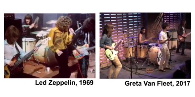 band Greta Van Fleet: a chip off the Zeppelin block?