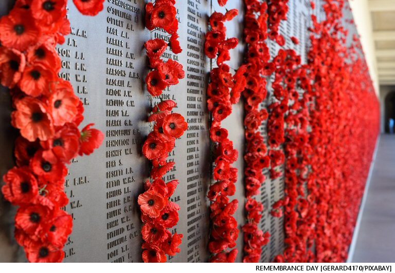 The Q's Rockline Theme Thursday With Scott James 110917:  Remembrance Day