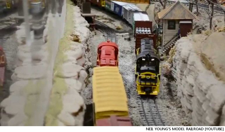 Own One Of Neil Young's Model Train Sets, Keep On Railroadin' In The Free World