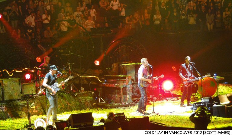 Ka-Ching: Coldplay's Head Full Of Dreams Tour Clocks In At Number Three On The All-Time Most Lucrative Concert Tours List