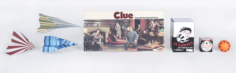 'Clue', Wiffle Ball, paper airplane enter Toy Hall of Fame