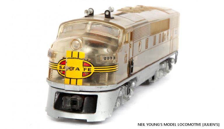 Auction Buyers Choo-Choo-Choose Neil Young's Model Trains To The Tune Of $300,000