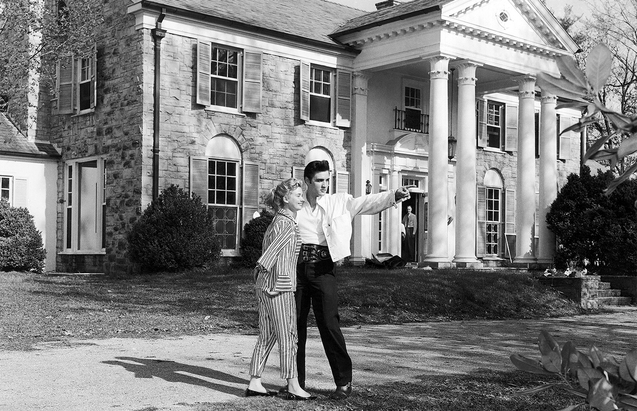 Elvis items up for auction at Graceland