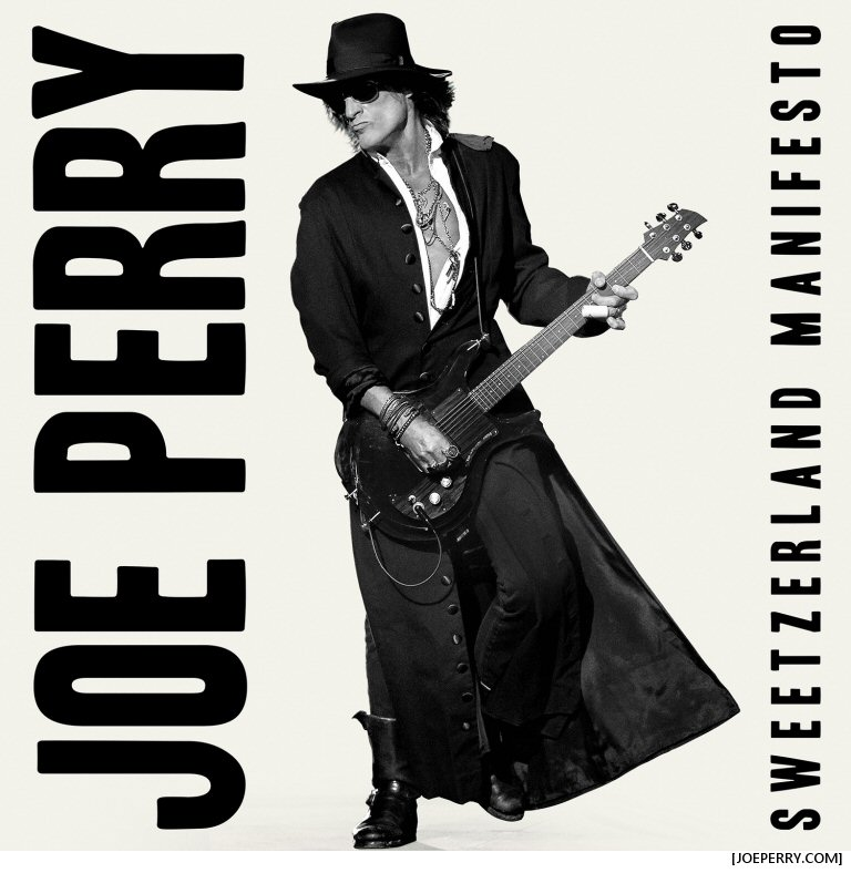 Joe Perry And Robin Zander Hook Up On This Track From Joe's Forthcoming Sweetzerland Manifesto Album