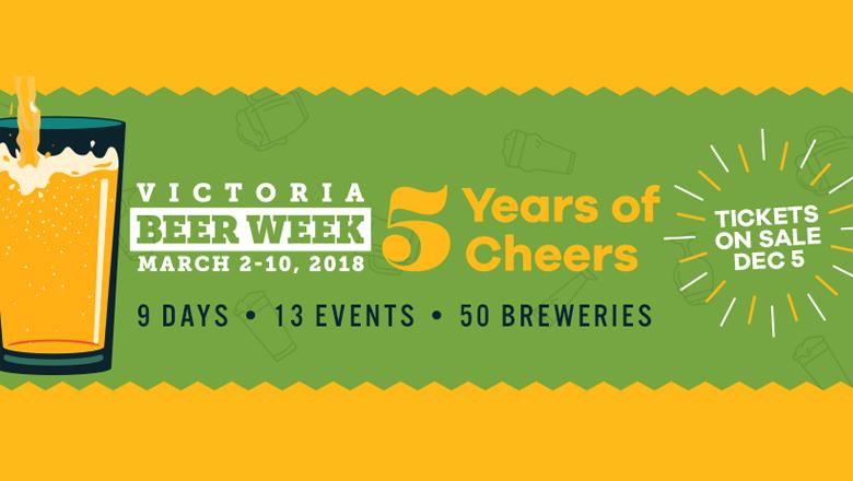 Victoria Beer Week is back March 2 - 10!