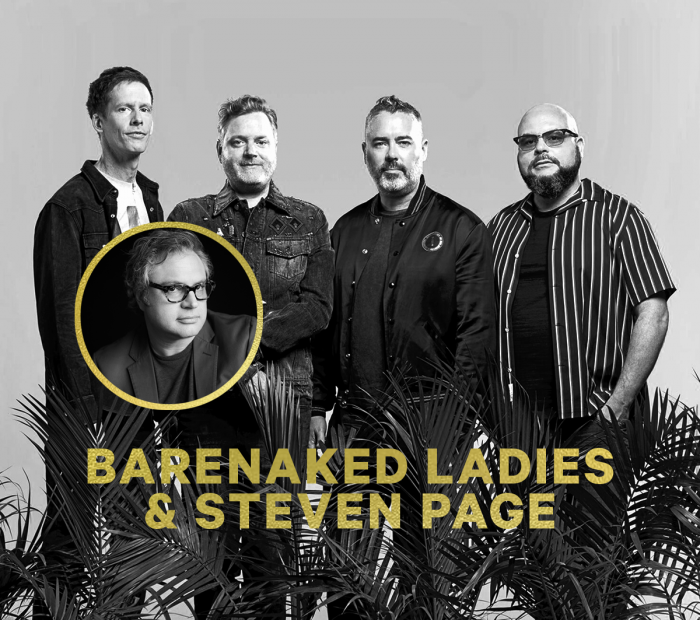 Steven Page reuniting with Barenaked Ladies, for one night only