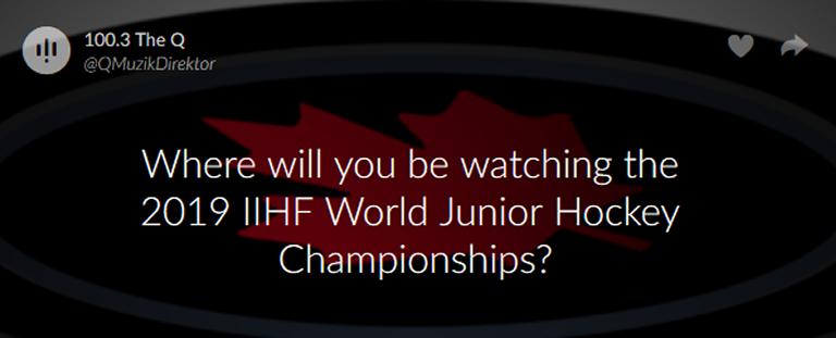 Scott's Monday QuickPoll™: The 2019 IIHF World Junior Hockey  Championships