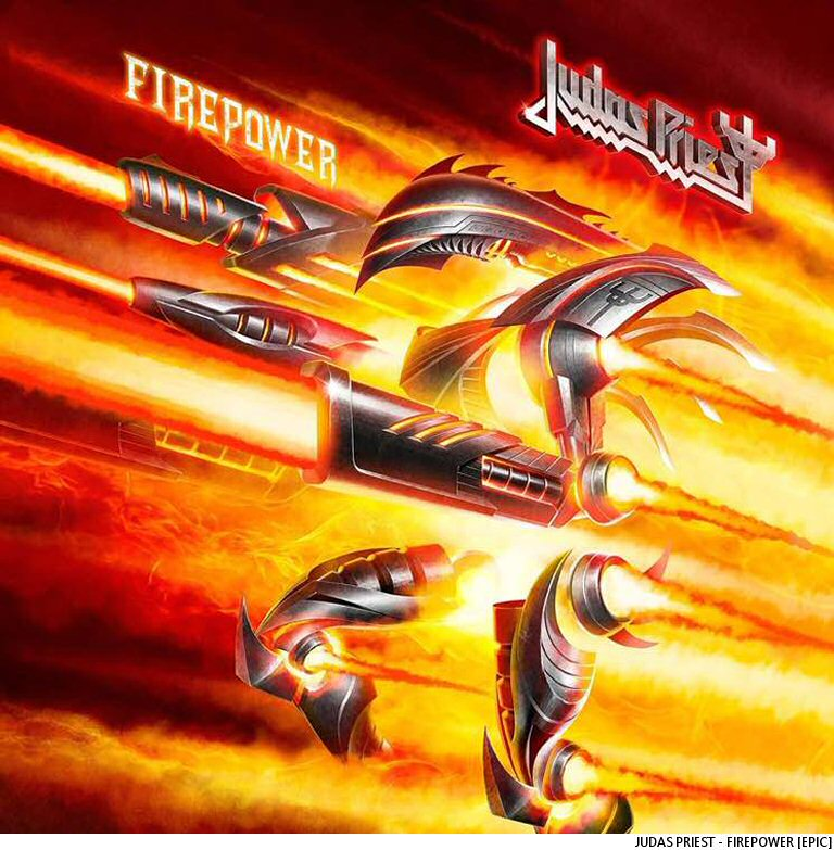 Judas Priest Bring Out The Firepower On New Album