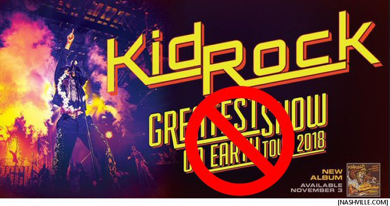 Kid Rock's The Greatest Show On Earth Tour: No Longer The Greatest Show On Earth Tour