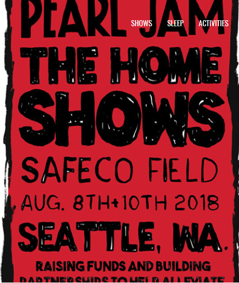 Pearl Jam in Seattle, first time in 5 years