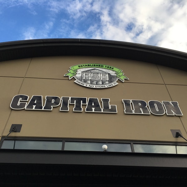retail changes: new Buckerfield's store in Langford at Capital Iron