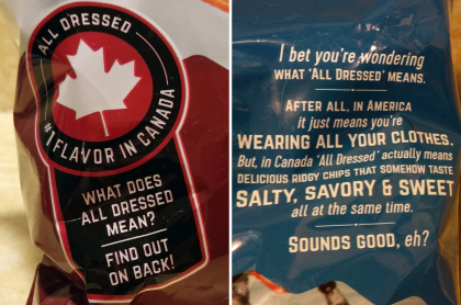 All Dressed chips are in the U.S. to stay. What's the fuss all aboot?
