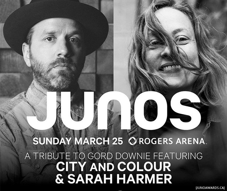 Dallas Green And Sarah Harmer Will Pay Tribute To Gord Downie At The Juno Awards