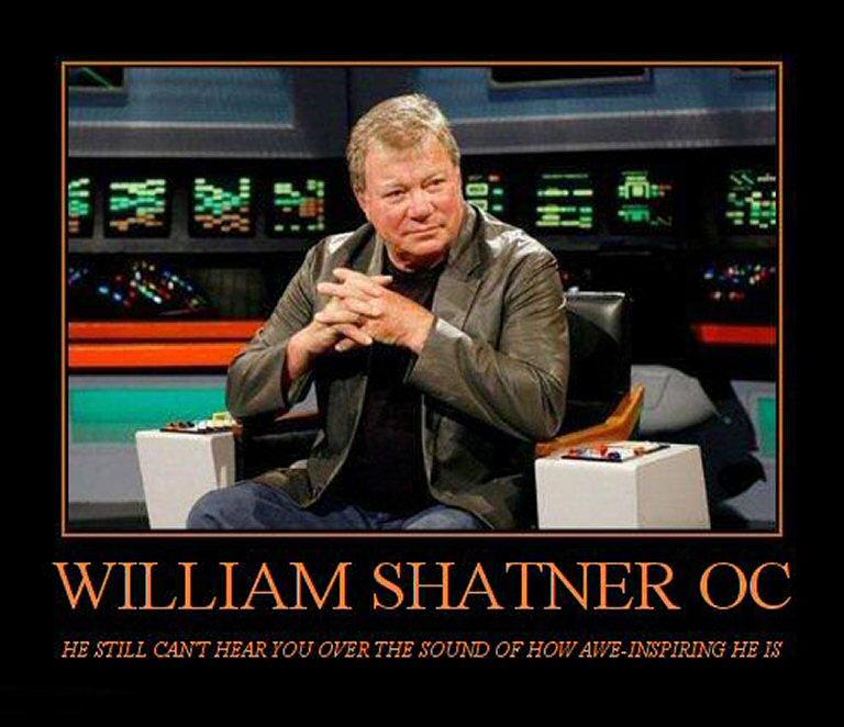 Snappy Birthday, Captain Kirk