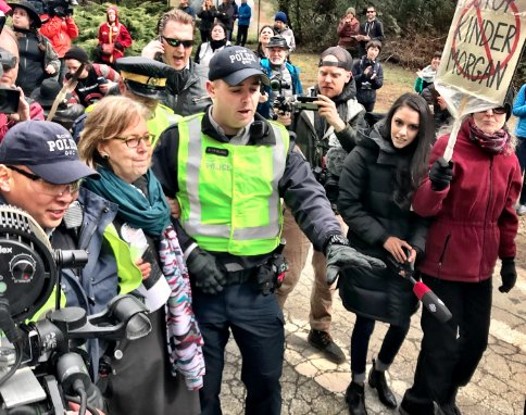 Local MP arrested at pipeline protest