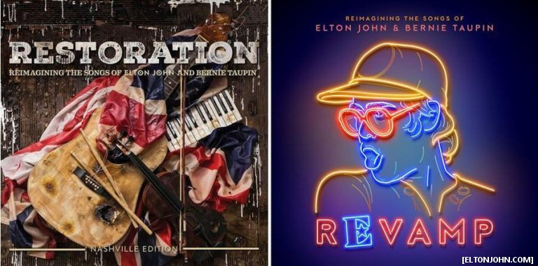 Two New Elton John Tribute Albums Will Include Don Henley, Mumford And Sons, Coldplay, The Killers And More