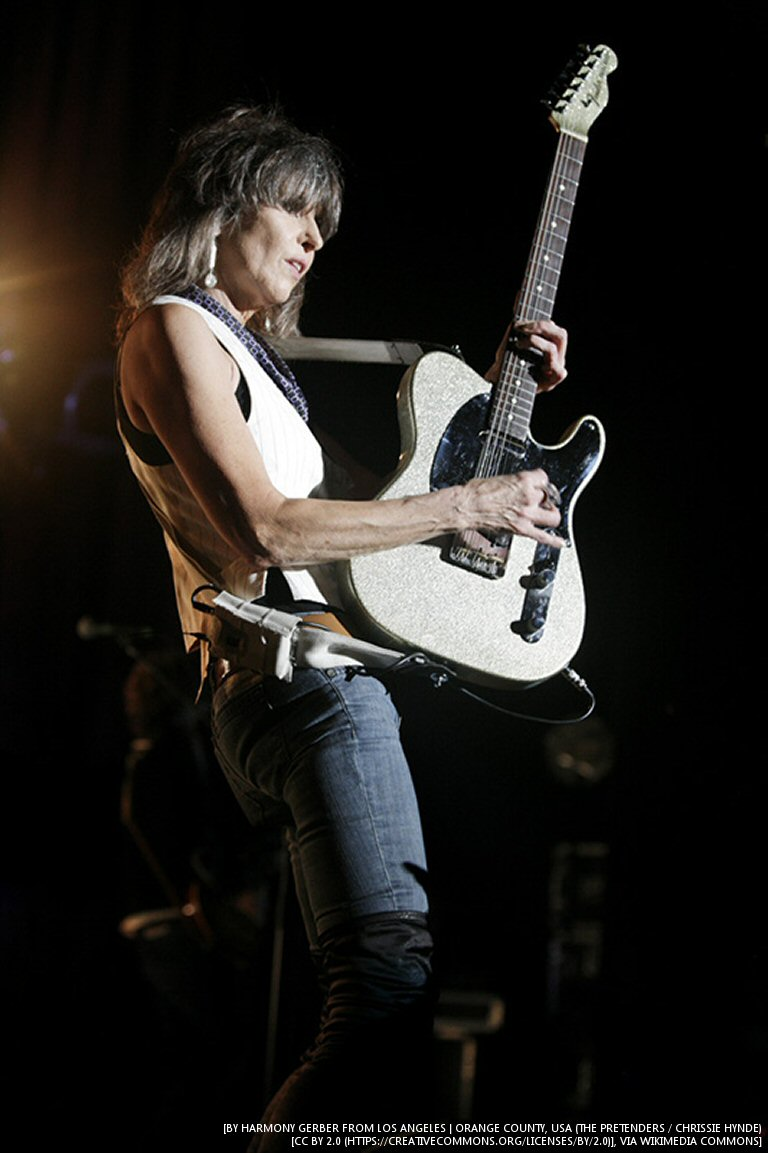 A New Chrissie Hynde Documentary Is On The Way Next Month