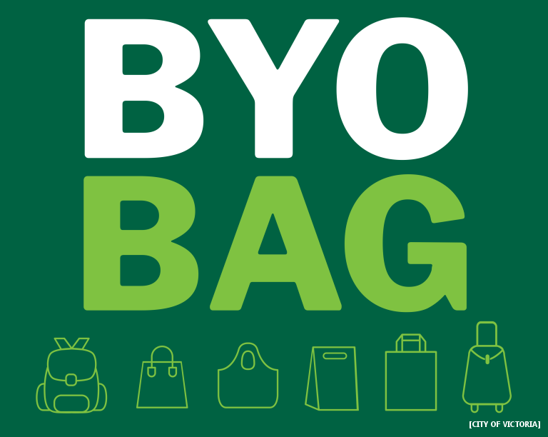 Make A Pro-Reusable Bag Video, Win A Bag Of The City Of Victoria's Money