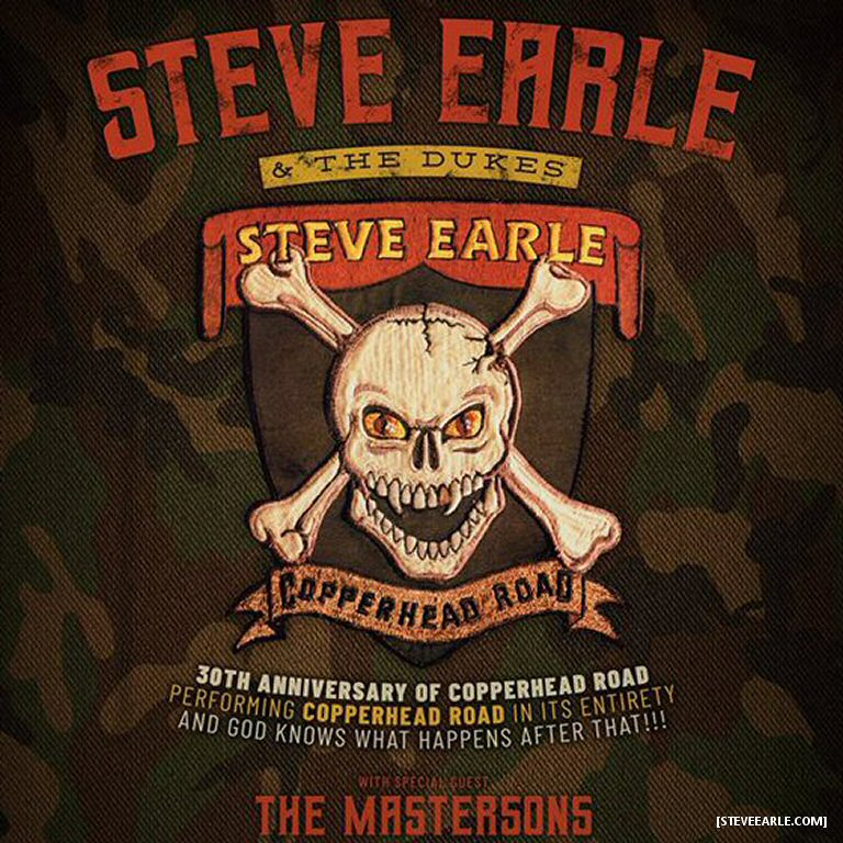 Steve Earle Brings The 30th Anniversary Copperhead Road Tour To The Great White North