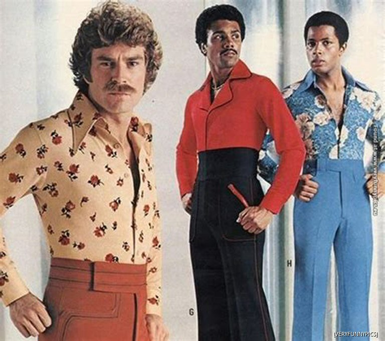 Those 70s Pants Were A Little Tight Under The Arms, But Hey, At Least The Music Was Pretty Good