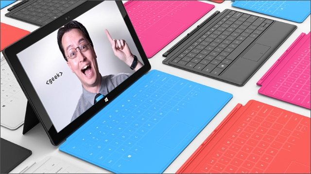 Bud's Weekly Geek-out :: Microsoft Surface tablet