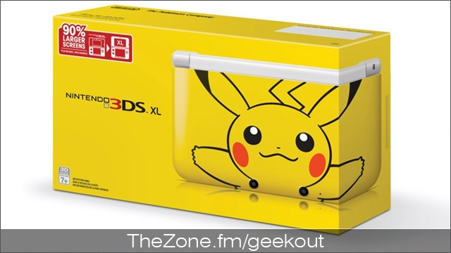 Bud's Mini Geek-out :: Pikachu 3DS XL coming soon