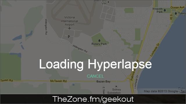 Bud's Mini Geek-out :: Google Street View Hyperlapse