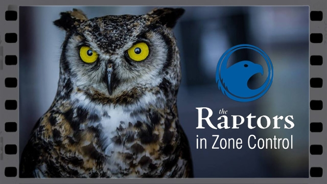 The Raptors in Zone Control