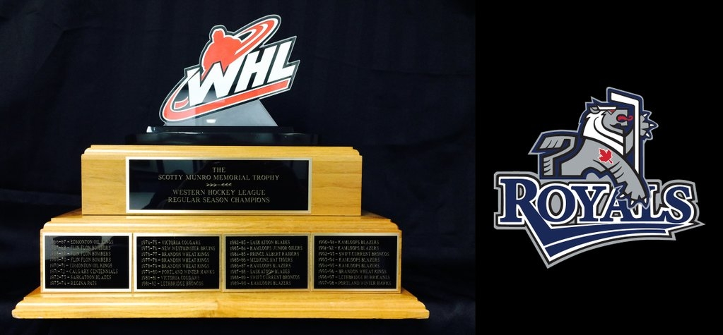 Royals WHL Regular Season Champs after 7-4 Win Against Rockets Wed.
