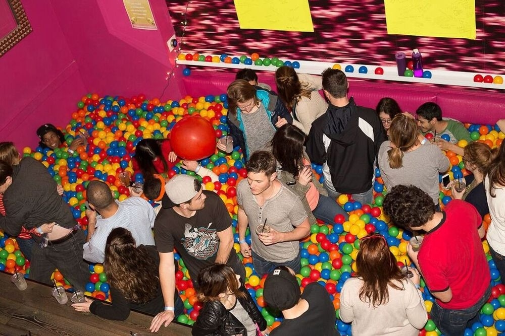 The World's First Ball Pit Bar in San Francisco