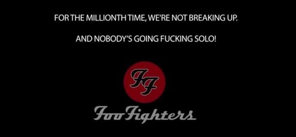 The REAL Foo Fighters Announcement