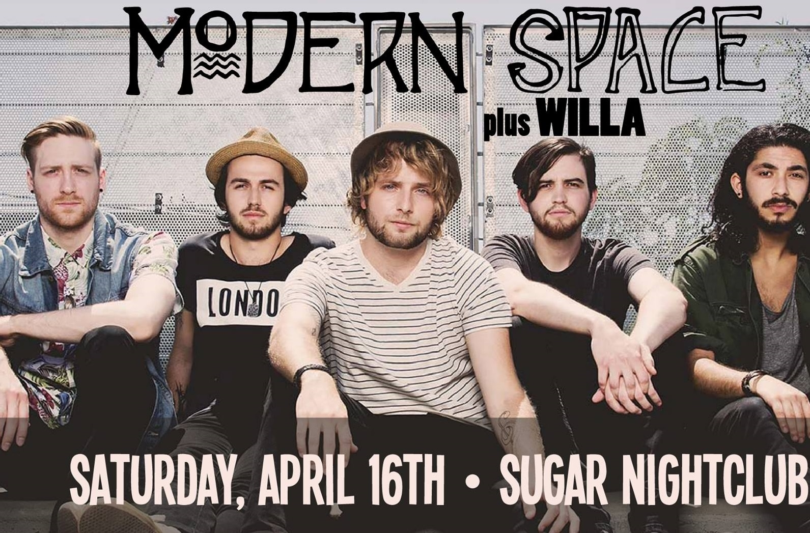 Concert Watch: Modern Space at Sugar Nightclub, April 16th