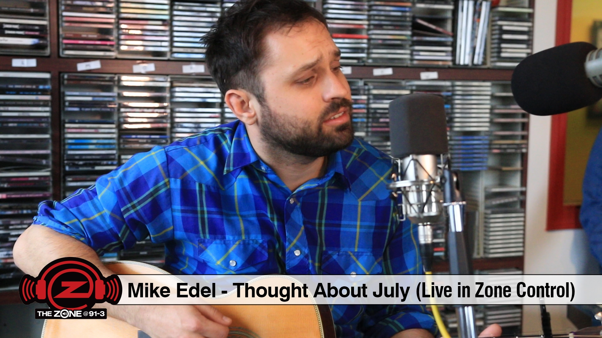 Mike Edel :: Thought About July (Live in Zone Control)