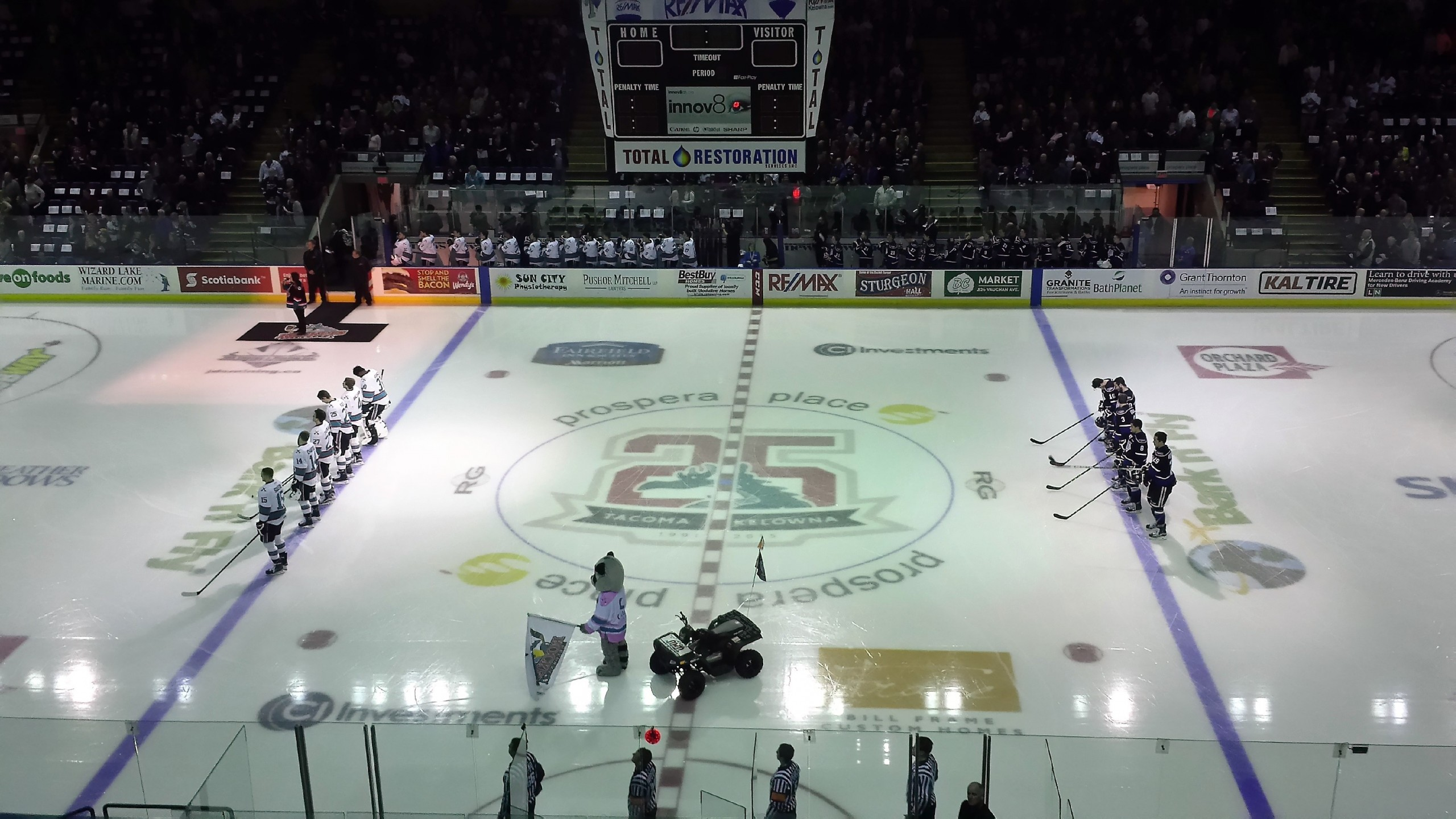 Preview Game 4: Victoria at Kelowna Thursday