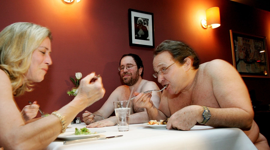 ALL-NAKED RESTAURANT TO OPEN IN LONDON